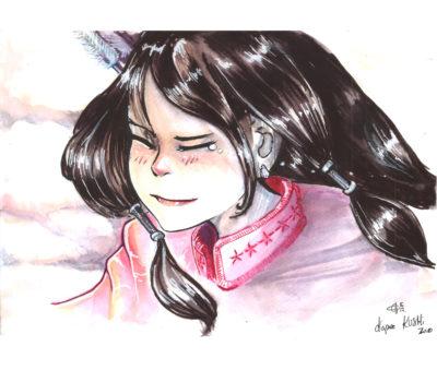 Dessin manga aux feutres pour artistes GRAPHO, par Lionel Calmejane